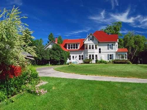 Hulls Falls House In Keene Valley Adirondack Realty